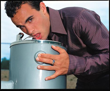 Landon Donovan, drinking